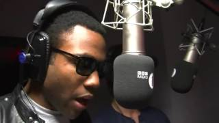 Childish Gambino Freestyles on BBC Radio 1