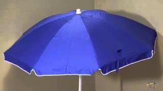 2 Rio Ripcurl Stripe Beach Chairs + 1 Blue Umbrella and 1 Anchor - Product Review Video