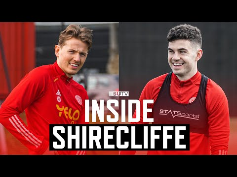 Inside Shirecliffe   Sheffield United First Team Training ahead of Arsenal   Drills & GK Training