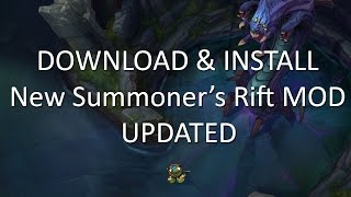 New Summoner's Rift Map UPDATED! New Monsters, Minions, Dragon & Baron! DOWNLOAD & INSTALL!
