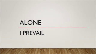 I Prevail - Alone (Lyrics)