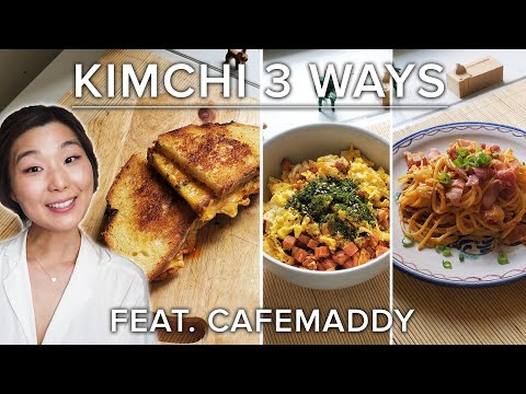 How To Make 3 Different Recipes With Kimchi ? Tasty