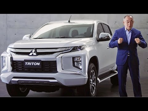 Mitsubishi Triton/L200 (2019) Ready to fight Toyota Hilux""