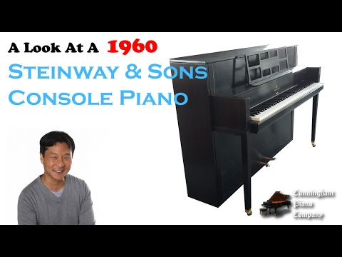 A Look At A Steinway & Sons 1960 Console Piano