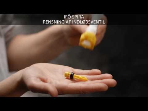 Rengøring af indløbsventil på et Ifö Spira toilet