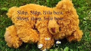 Old English Lullaby: Slǣp, Slǣp