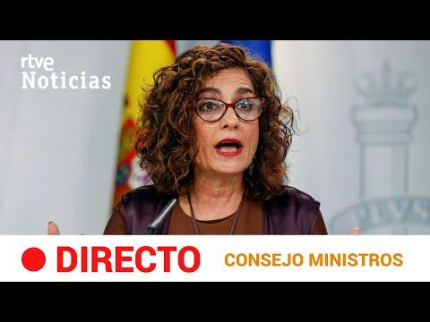EN DIRECTO 🔴 Rueda de prensa CONSEJO de  MINISTROS.-10 NOVIEMBRE | RTVE Noticias