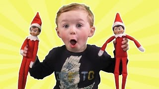 Elf on the Shelf Party | Jagger Touched The Elves! Did we Ruin Christmas