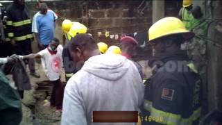 Video of Building Collapse in Meiran (Lagos State) on LGA Election Day!