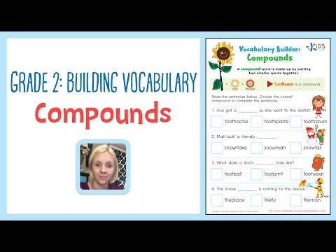 Grade 2: Building Vocabulary - Compounds | Kids Academy