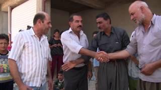 Refugiado sírio auxilia deslocados internos no norte do Iraque