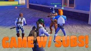 Knives Out - Playing Fireteam with Subscribers! (12 Kills)