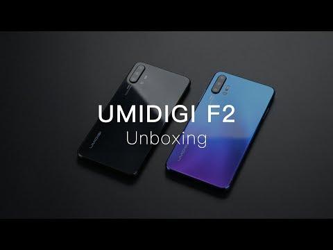 UMIDIGI F2: Unboxing the World's 1st Android 10 Quad Camera Smartphone