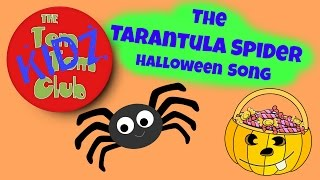 Halloween song for kids | Tarantula Spider | Nursery Rhyming Song