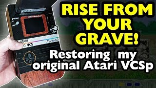 Original Atari 2600 VCS Portable Refurbishment