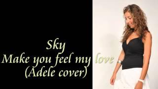 Adele - Make you feel my love ( Sky cover )