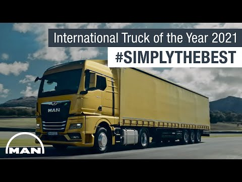 The MAN TGX: International Truck of the Year 2021 #SimplyTheBest | MAN Truck & Bus