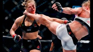 UFC 193 Rewind: Holly Holm's Shocking Win Against Ronda Rousey width=