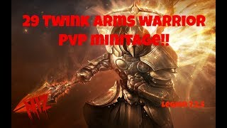 29 Twink Arms Warrior PvP Minitage!!