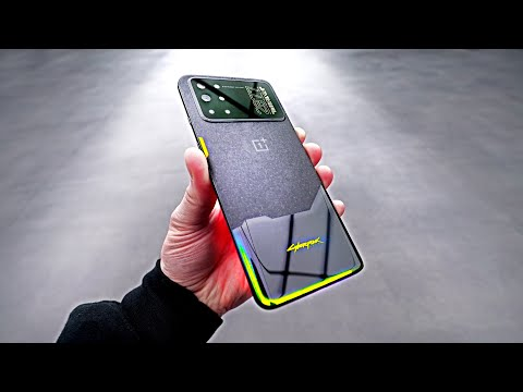 Cyberpunk 2077 Limited Smartphone Unboxing