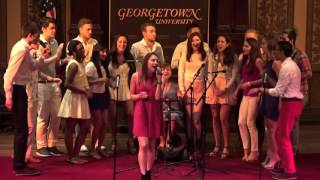 "Georgetown Saxatones - ""Hey Mama"" (A Cappella cover)"