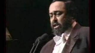 Luciano Pavarotti - Vento (Bixio) Budapest 1991