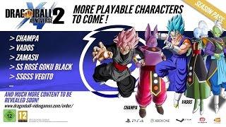 SSGSS VEGITO, ZAMASU, Super Saiyan Rose Black Confirmed Playable - Dragon Ball Xenoverse 2 DLC 2