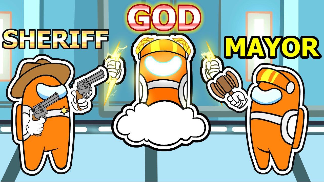 socksfor1 - among us IMPOSTOR GOD vs MORE SPECIAL ROLES (mods)