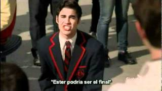 Somewhere Only We Know - Glee Cast (Warblers - Video)  Subtitulos Español