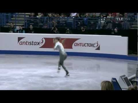 Carolina Kostner - Free Program - 2012 European Figure Skating Championships