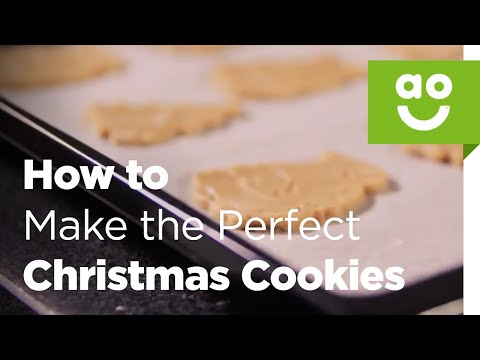 How to Make the Perfect Christmas Cookies with Bosch | ao.com Recipes