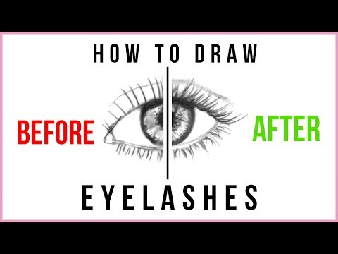 DOs & DON'Ts: How to Draw Eyelashes Step by Step for Beginners