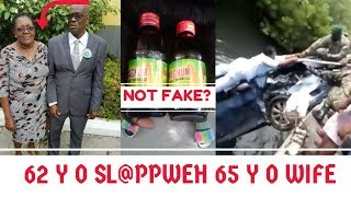 65 Y O Wife SL@PPWEH By 62 Y O Husband In PORTMORE + JR&N Responds To F@KE Chinese MAGNUM