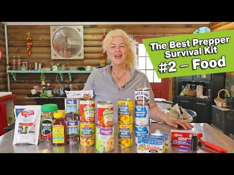 The Best Prepper Survival Kit #2 – Food