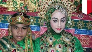 Heboh! Pernikahan Dini ABG 14 Tahun Asal Bulukumba Sulawesi Selatan Ini Jadi Viral   TomoNews