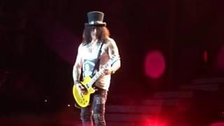 Guns n Roses-The Godfather/Slash solo @Sydney 2017