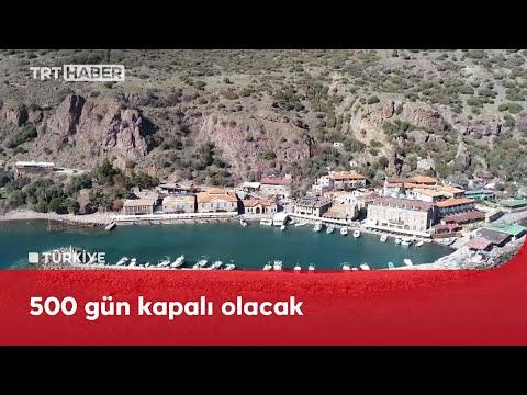 """Assos Antik Liman """"afet bölgesi"""" ilan edildi: İşletmeler kapatıldı"""