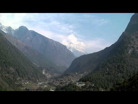 SANY0054.MP4 Cheplung-Thadokosi-Ghat(ナムチェ-ルクラ間) / Everest Trekking View