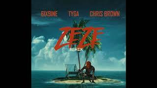 6IX9INE ft Tyga, Chris Brown - ZEZE (Kodak Black Remix)