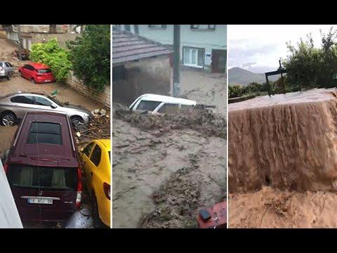 Bursa'da sel faciası! Vali acı haberi verdi