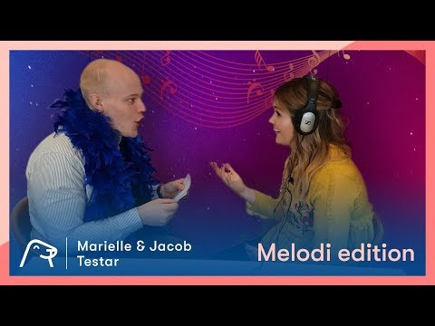 Marielle & Jacob testar Melodi Edition - Del 2