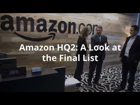 Amazon HQ2: A Look at the Final List