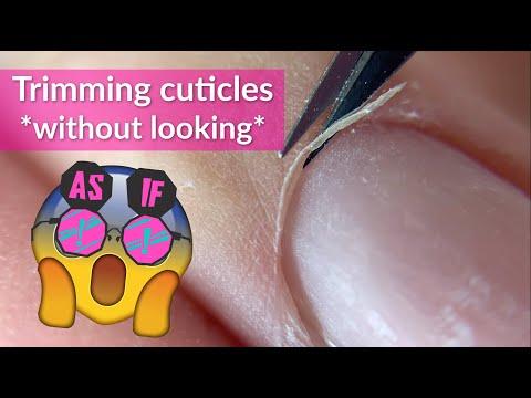 Russian Manicure Tutorial | Trimming Cuticles