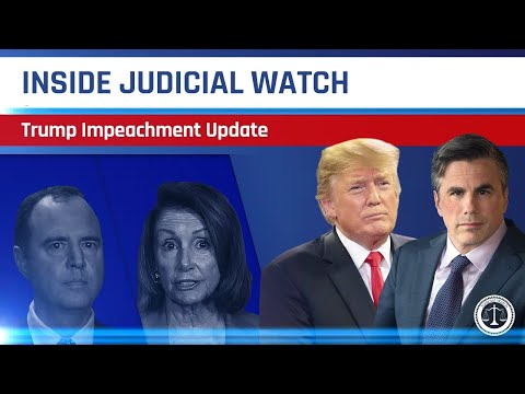 Trump Impeachment Update, Clinton Email Update, & Who is the Whistleblower? | Inside Judicial Watch