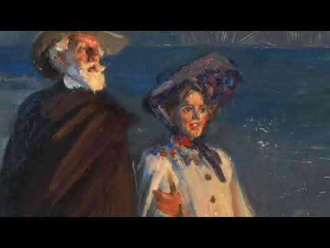 """""""BUT AT  MIDSUMMER  MOST…"""" P.S. Krøyer's study of the Drachmann couple"""