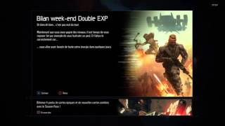 INFO BO3: DOUBLE XP D'ARME ?