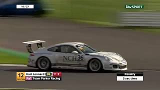 Porsche Carrera Cup GB 2017: Silverstone rounds 12  13