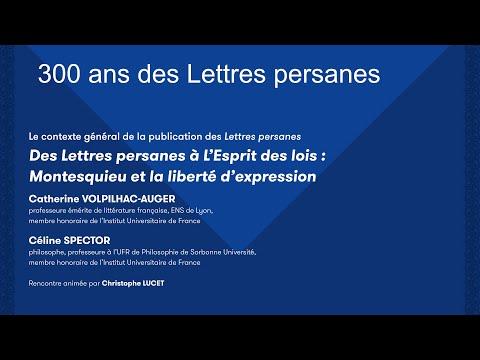 Vidéo de  Montesquieu