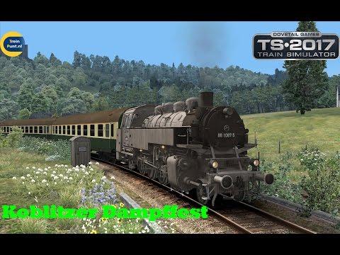 Koblitzer Dampffest | BR BR86 Grey | Train Simulator 2017