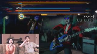 The Sounds of Silence (Rock Band 4) perfect expert harmonies 100% FC feat Orange Harrison